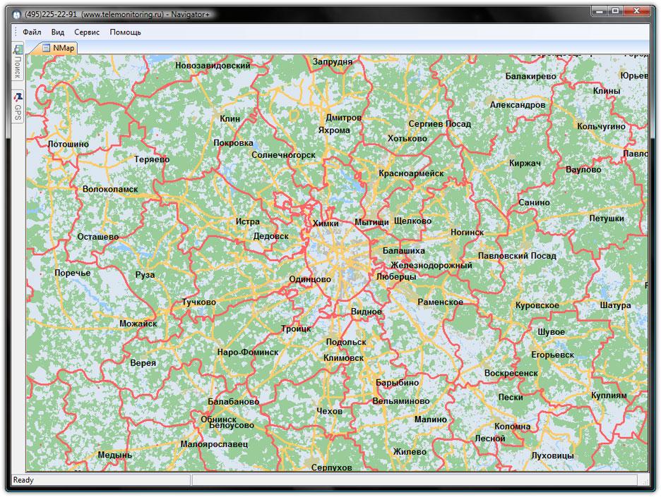 программа для работы с картами - фото 11